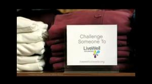 LiveWell Colorado's Mall Chase Commercial