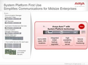 Reducing complexity with Avaya Aura Midsize solution for enterprises
