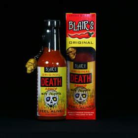 La salsa más picante del mundo. La salsa de la muerte