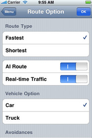 GPS for iPhone - G-Map
