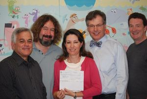 Society of Camera Operators donates to The Vision Center CHLA