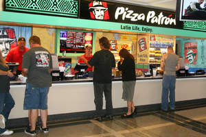 Pizza Patron debuts new Latin-themed concessions at the American Airlines Center in Dallas.