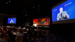 Stephen Covey Polycom Telepresence Leadership Workshop