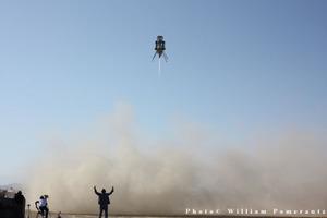Masten Space Systems successfully flies its lunar lander rocket vehicle, XA-0.1B, AKA 'Xombi'
