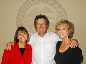 Pictured in this photo from left to right, Anita Mangels, Tom Lamb and Pat Kollenda.