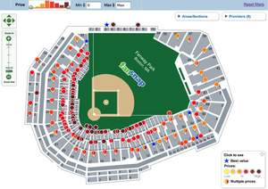 Fenway Park Tickets Map MLB ALDS_ Los Angeles Angels at Boston Red Sox - Game 3 (October 11) - Fenwa