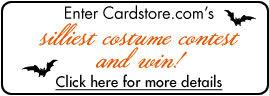 Enter Cardstore.com's Silliest Halloween Costume Contest