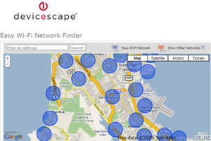 Easy WiFi Network, free access to the world's largest WiFi Network. The more you use it, the bigger it gets.
