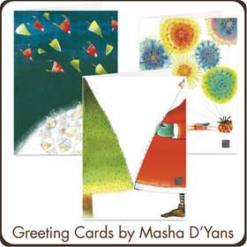 Masha D'Yans Greeting Cards at Cardstore.com
