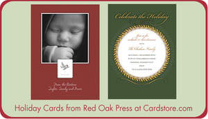 Holiday Cards from Red Oak Press at Cardstore.com