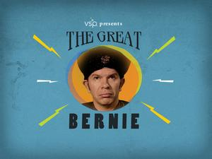 Legendary future-seer, 'The Great Bernie,' has teamed up with VSP to bring wisdom, enlightenment and foresight to the web at TheGreatBernie.com
