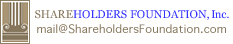 Shareholders Foundation, Inc.
