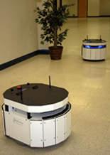 MobileRobots MT400 autonomous robotic base with Motivity