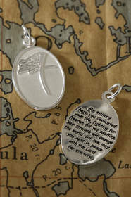 Susan Howard's Military Loss pendant for Veterans Day, from CelebrateYourFaith.com.