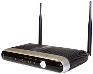 Actiontec Q1000H Wireless N VDSL Modem Router Product Shot - High Resolution