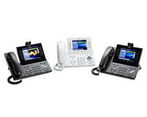 Cisco Unified IP Phones 8900 and 9900 family