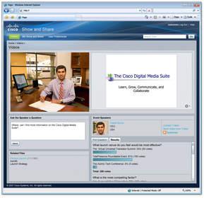 Cisco Show and Share