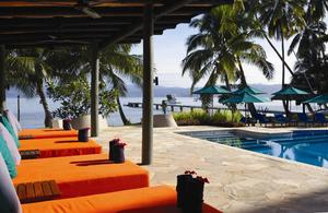 Fiji resort pool
