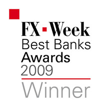 FX Week Best Banks Winner 2009