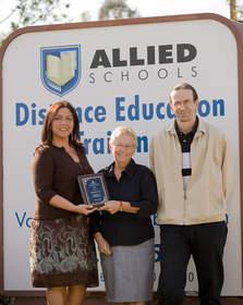 Margaret Jones Allied Schools DETC Oustanding Graduate