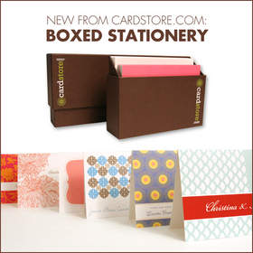 New Boxed Stationery at Cardstore.com.