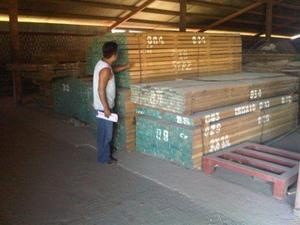 Lumber from Richwood in Nicaragua being Inspected for Export to Panama