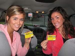 Taxi On Demand pre-paid taxi card photo.