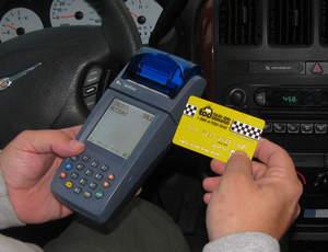 Taxi On Demand pre-paid taxi card logo.