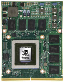 New NVIDIA Quadro FX 3800M photo 2