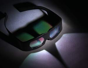 3D glasses developed by JDSU.