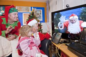 Children at the Bristol Royal Hospital for Children and the Nottingham Children's Hospital based at the Queen's Medical Centre can stop worrying about Santa being too busy to visit them in hospital this Christmas. With the help of video communications technology from Cisco, he has 'dropped in' to speak to them directly about their Christmas wish lists