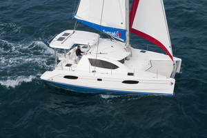 Leopard 38/Sunsail 384 Wins Again! Named 'Import Boat of The Year' & 'Best Multihull Cruiser'