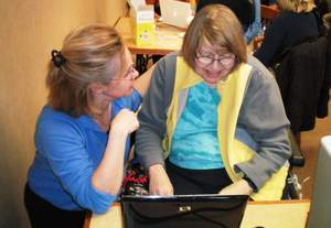 MyWay Village's Connected Living program helps seniors feel less depressed and isolated during the holiday season by getting them online to connect with friends and family.