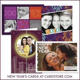 New Years Cards at Cardstore.com.