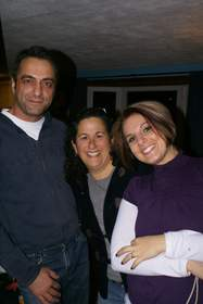 Michael Ferzoco, Eleven Interiors; Nancy Leventhal, Children's Hospital; and Stacy Courniotes, Eleven Interiors