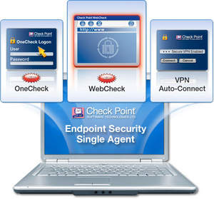 Check Point Full Disk Encryption is part of Check Point Endpoint Security