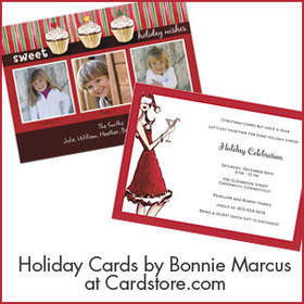 Holiday Cards from Bonnie Marcus at Cardstore.com