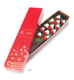 Edible Arrangements Berry Chocolate Roses with white chocolate