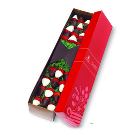 New Edible Arrangements Berry Chocolate Roses are available in one or two dozen varieties