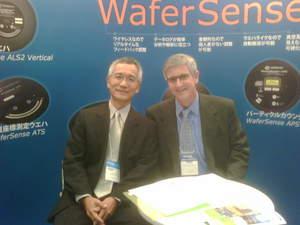 Frank Lu, of Hermes-Epitek Corp., and Craig C. Ramsey, Ph.D., of CyberOptics Semiconductor, Inc.