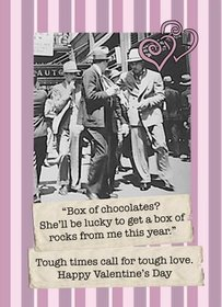 Funny Valentine's Day Cards from Order of St. Nick