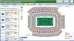 NFL Playoffs AFC Divisional Game_ Baltimore Ravens @ Indianapolis Colts tickets - Lucas Oil Stadium