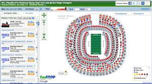 FanSnap | NFL Playoffs AFC Divisional  Jets @ Chargers tickets - Qualcomm Stadium