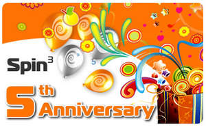 Spin3 is celebrating its 5th anniversary