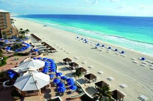 Photoof the New Beach at The Ritz-Carlton, Cancun