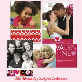 Valentine's Day Photo Cards from Cardstore.com