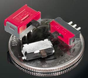 NKK Switches' new SS Series of ultra-miniature slide switches feature ultra-compact dimensions and a super-low profile, making these devices a preferred choice for designs requiring high-density PCB or SMT mounting.