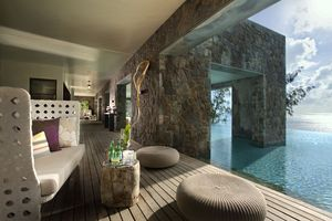 Spa at The Four Seasons Seychelles designed by HBA/Hirsch Bedner Associates