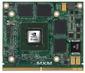 NVIDIA Quadro FX 1800M professional graphics solution