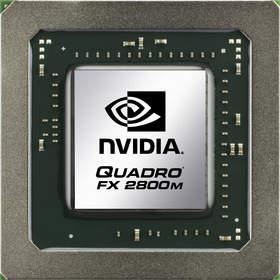 NVIDIA Quadro FX 2800M professional graphics solution